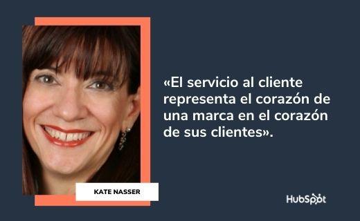 Frases célebres de servicio al cliente: Kate Nasser