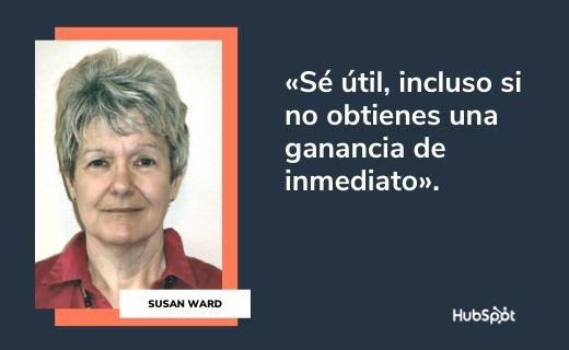 Frases célebres de servicio al cliente: Susan Ward