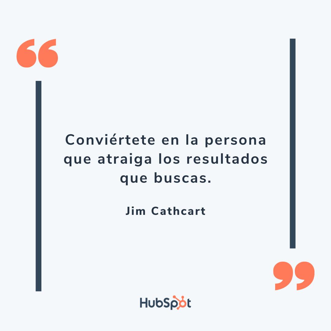 Frase motivadora de ventas de Cathcart