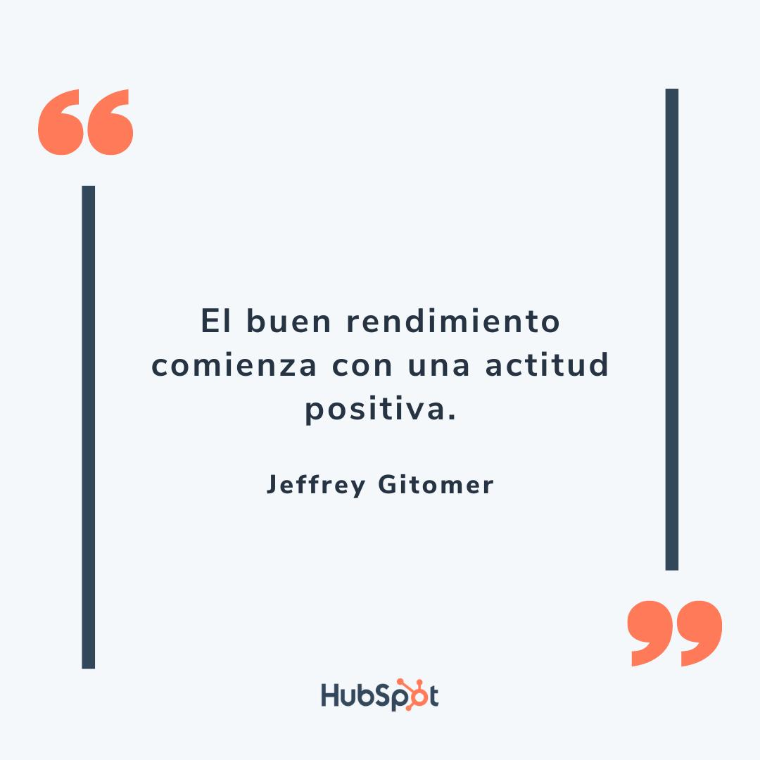 Frase de ventas motivadora de Gitomer