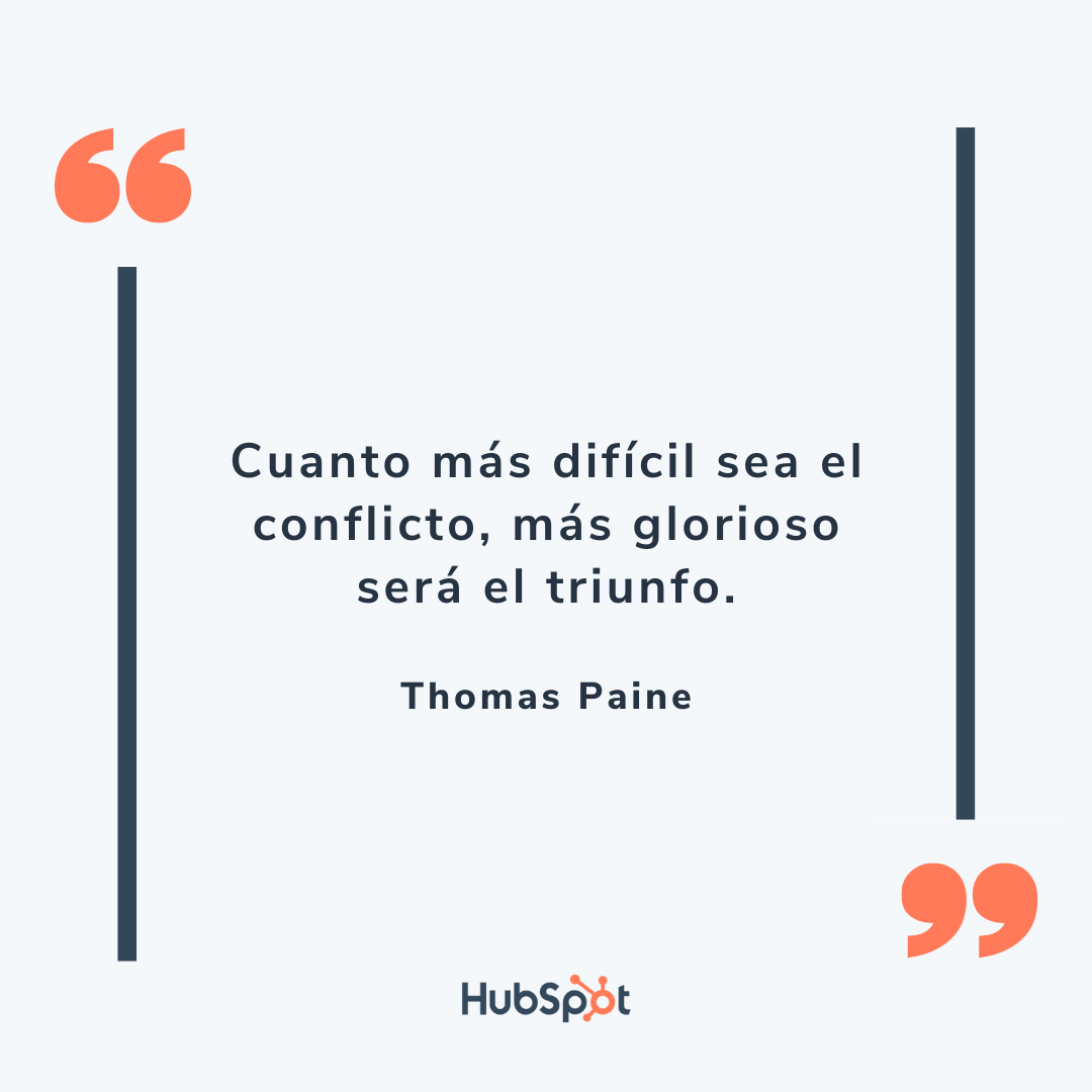 Frase motivadora para tu equipo de ventas de Paine
