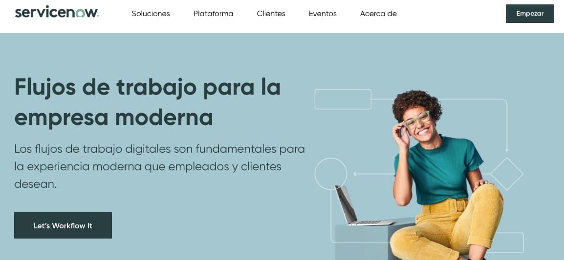 Servicenow, herramienta de gestión de servicio