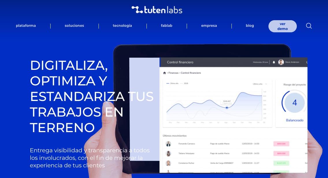 Ejemplo de herramienta de gestión de servicio: Tutenlabs