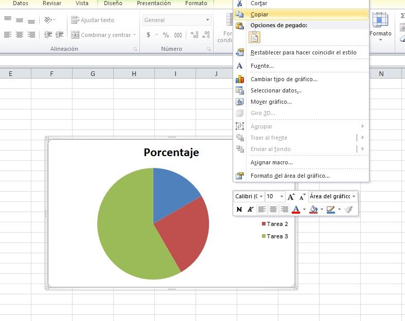 cómo pasar gráfica de excel a word: copia tu gráfica