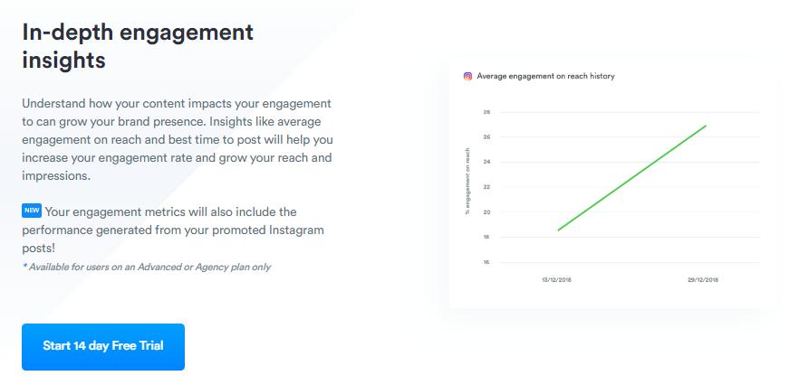 ejemplo de herramientas para analizar estadísticas de Instagram