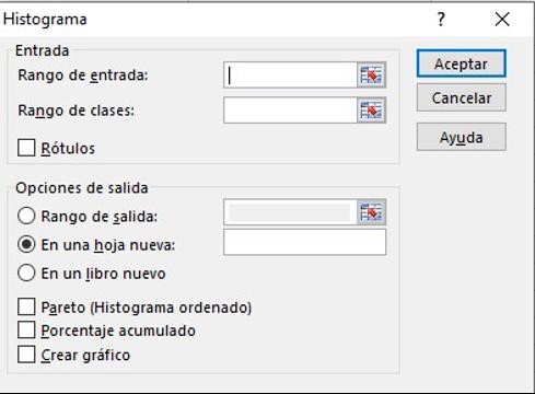 Histograma, herramienta para realizar análisis de datos en Excel