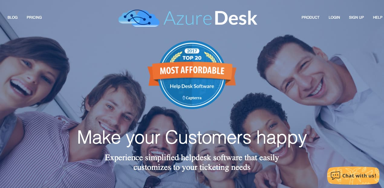 Herramienta de service desk: Azure