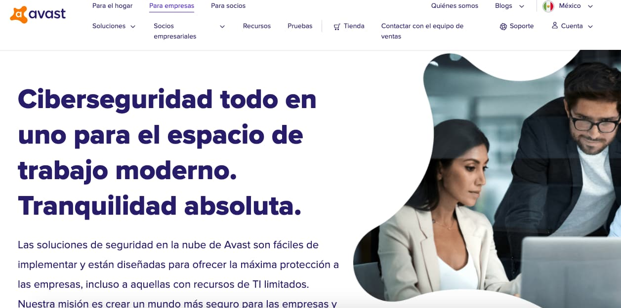 Herramientas empresariales de seguridad informatica: Avast