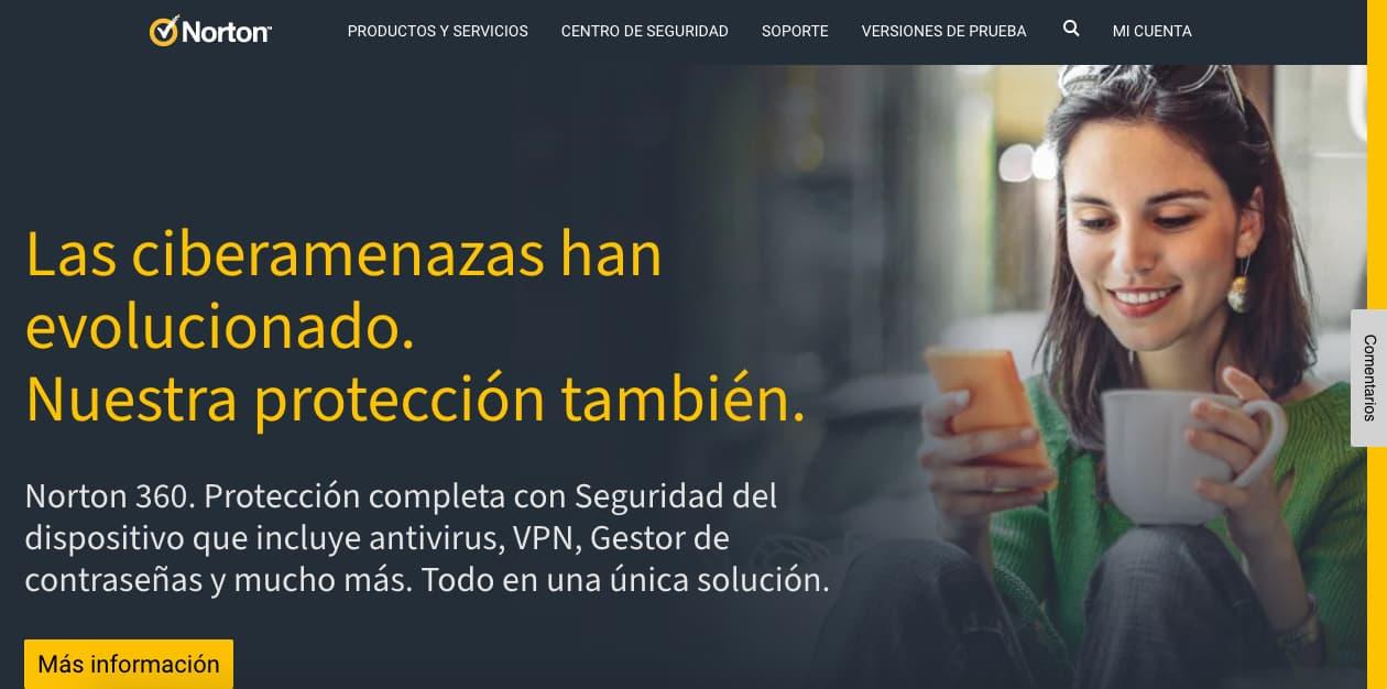 Herramientas empresariales de seguridad informatica: Norton