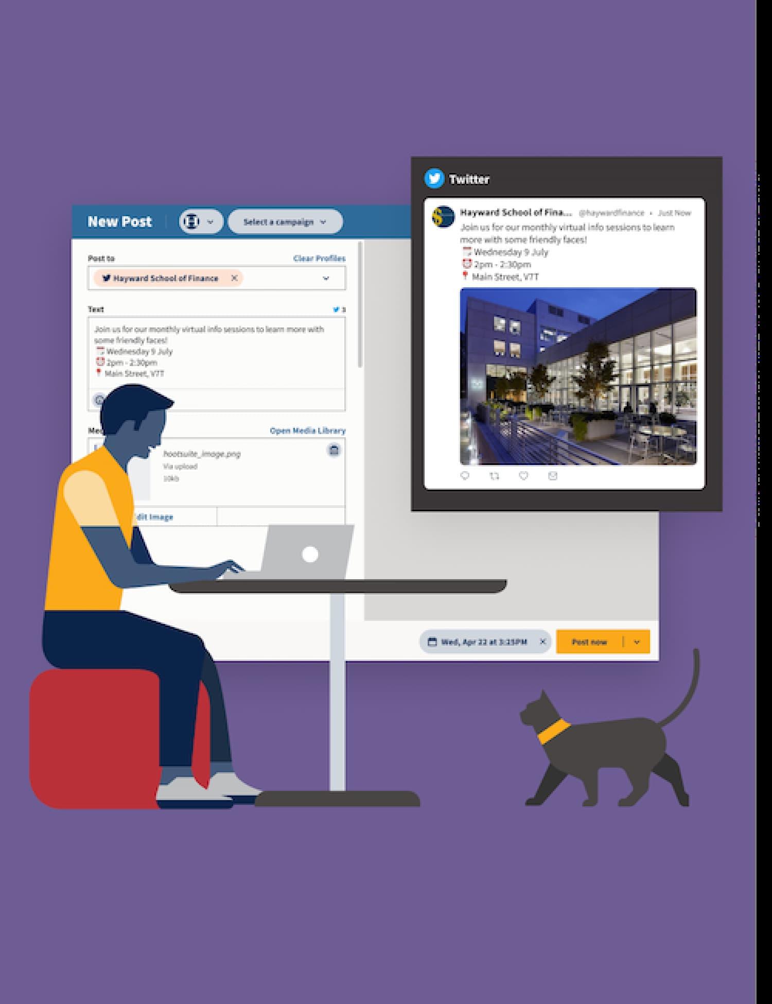 Gestor de redes sociales, Hootsuite