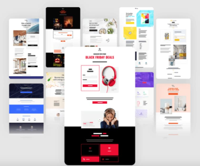 GetResponse, herramienta para crear landing pages