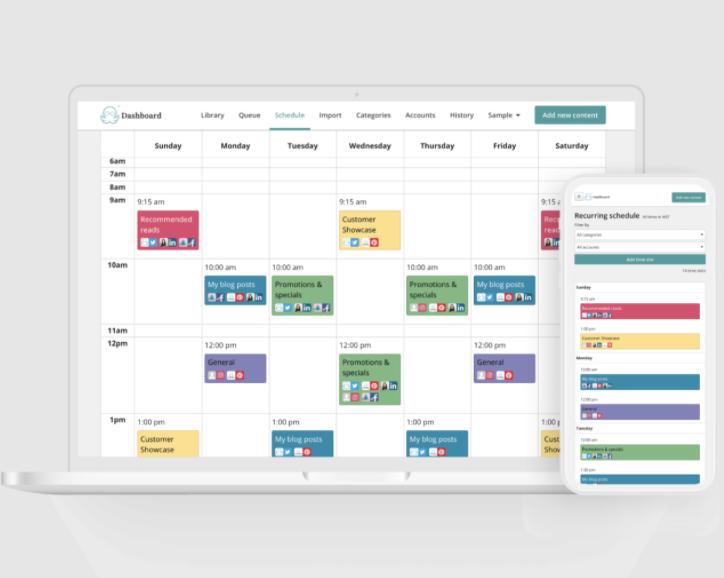 MeetEdgar, herramienta para programar publicaciones en Facebook