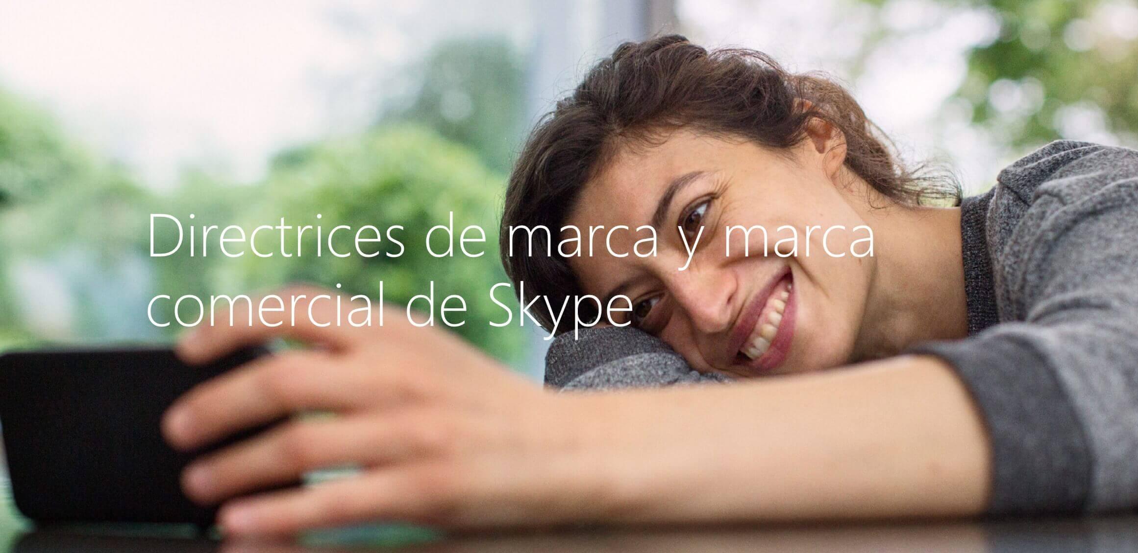Skype, ejemplo de identidad de marca