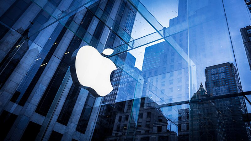 Imagen corporativa de Apple