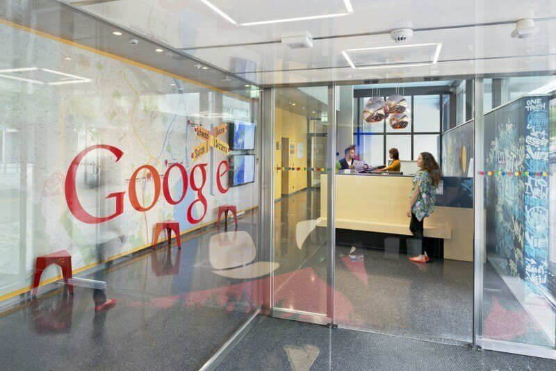 Imagen corporativa de Google