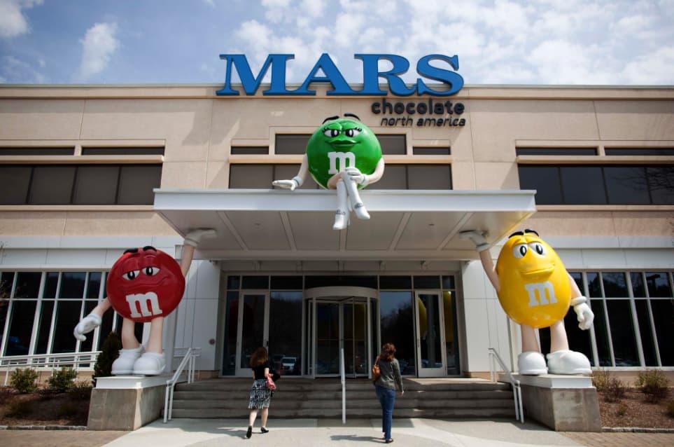 Imagen corporativa de Mars