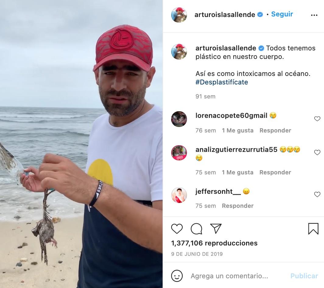 Influencers promocionando marcas, Arturo Islas Allende para Corona
