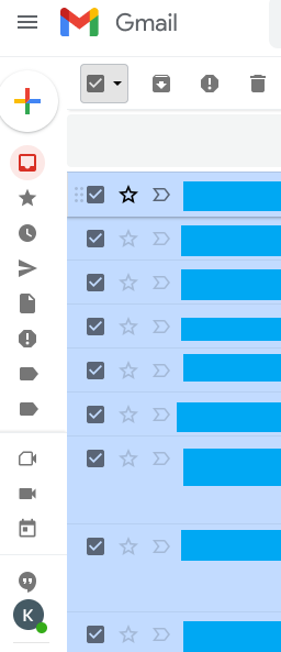 Cómo borrar correos en Gmail