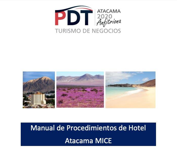 Ejemplo de manual de funciones de un vendedor de PDT
