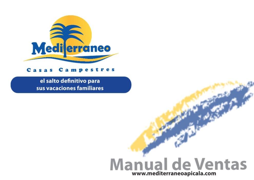 Ejemplo de manual de ventas de Mediterráneo