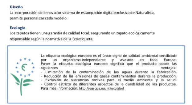 Ejemplo de manual de ventas de Naturalista