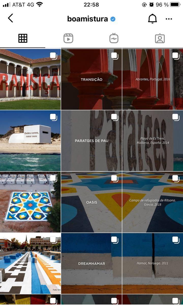 Marcas en Instagram que seguir: Boamistura, feed
