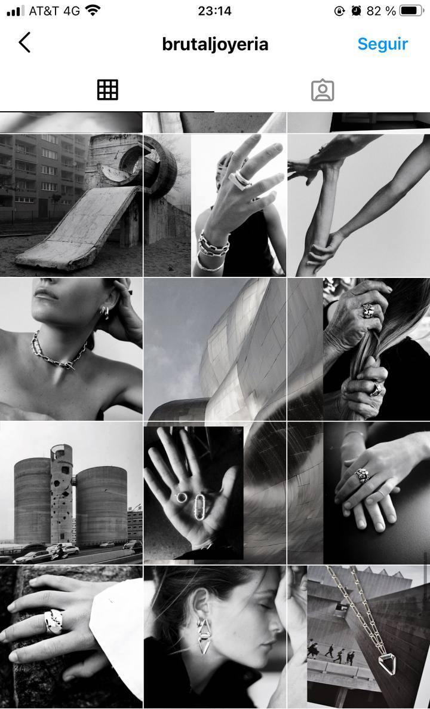Marcas en Instagram que seguir: Brutal, feed