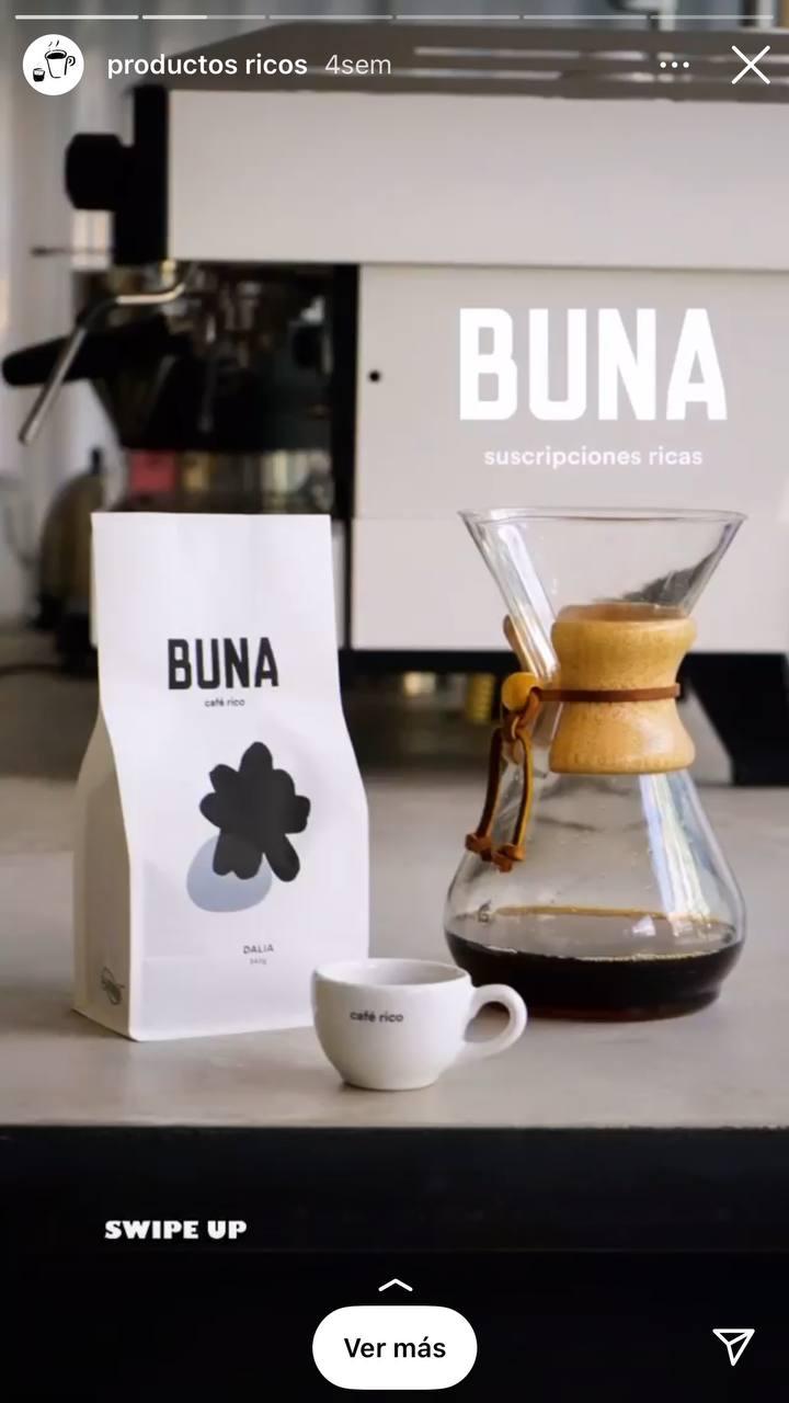 Historia de Buna utilizada para vender sus productos