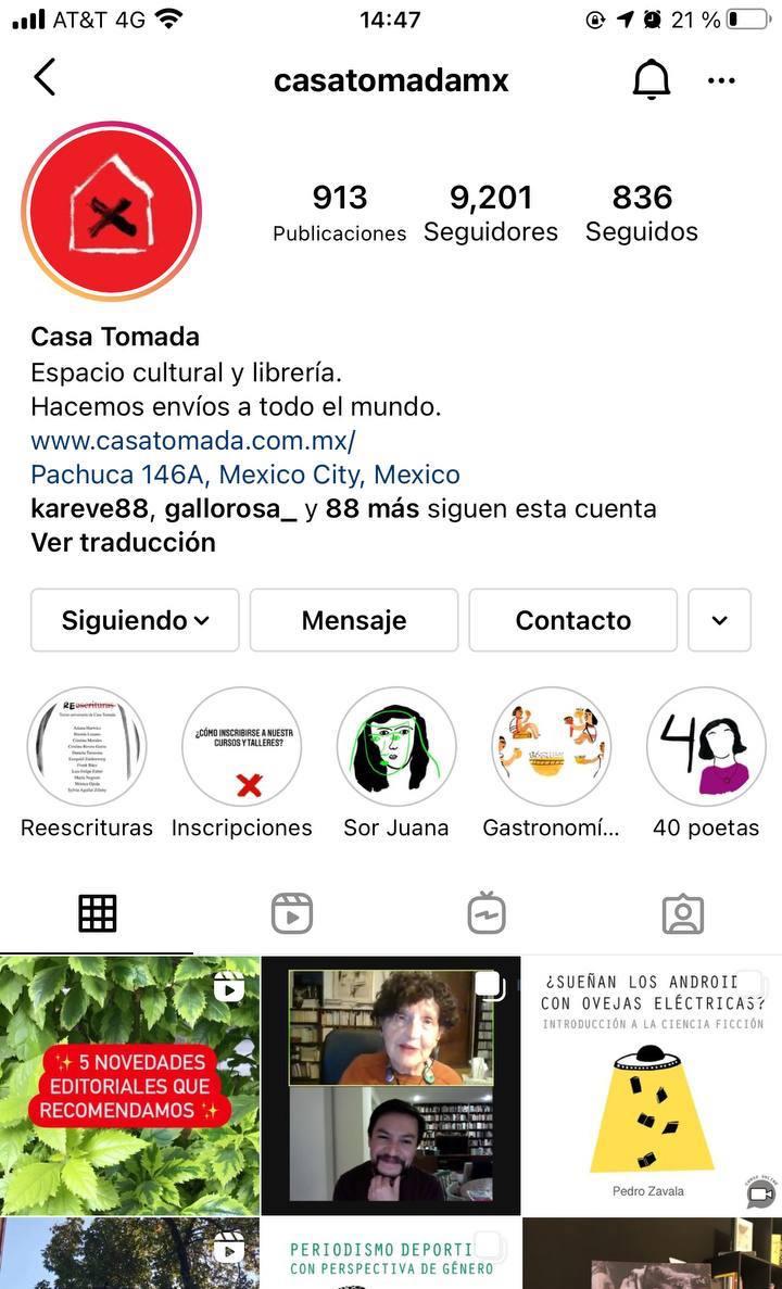 Marcas en Instagram que seguir: Casa Tomada