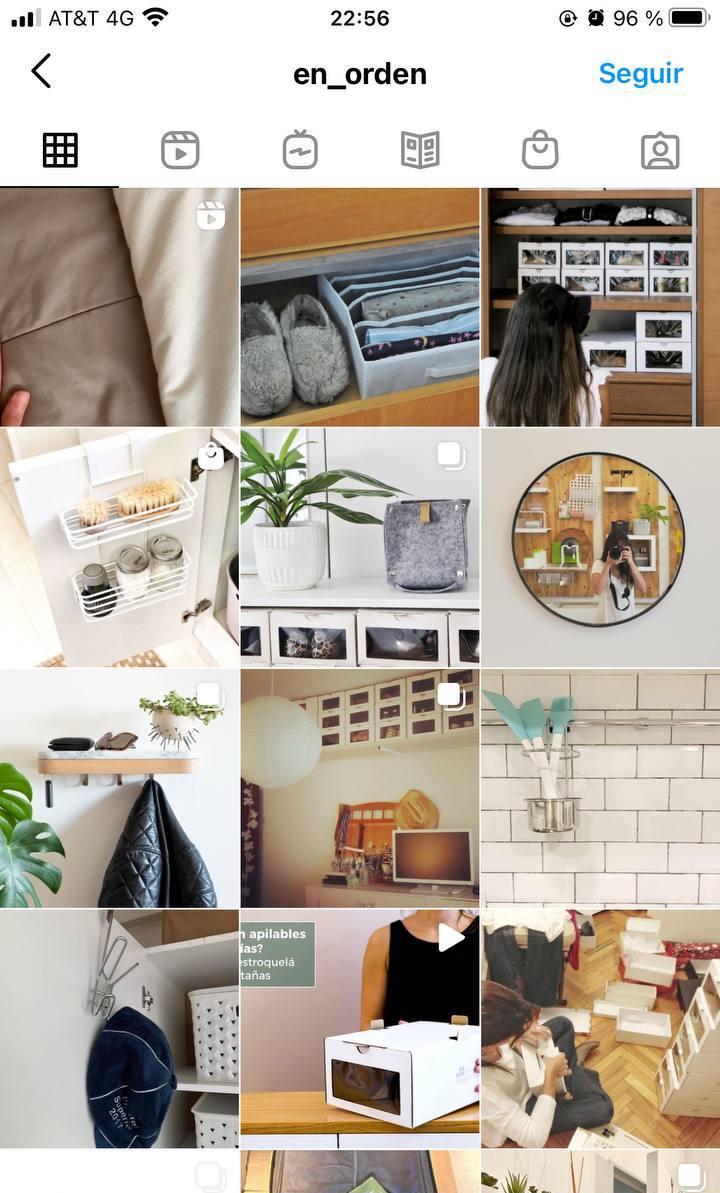 Marcas en Instagram que seguir: EnOrden, feed