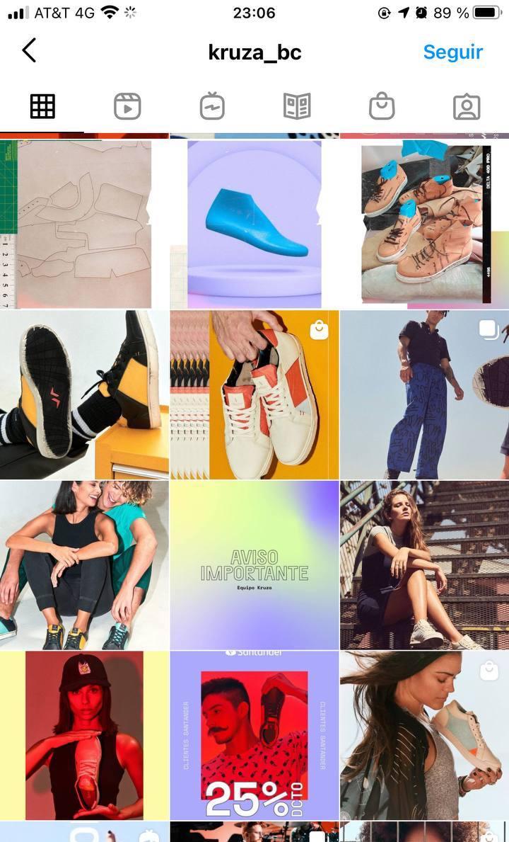 Marcas en Instagram que seguir: Kruza, feed