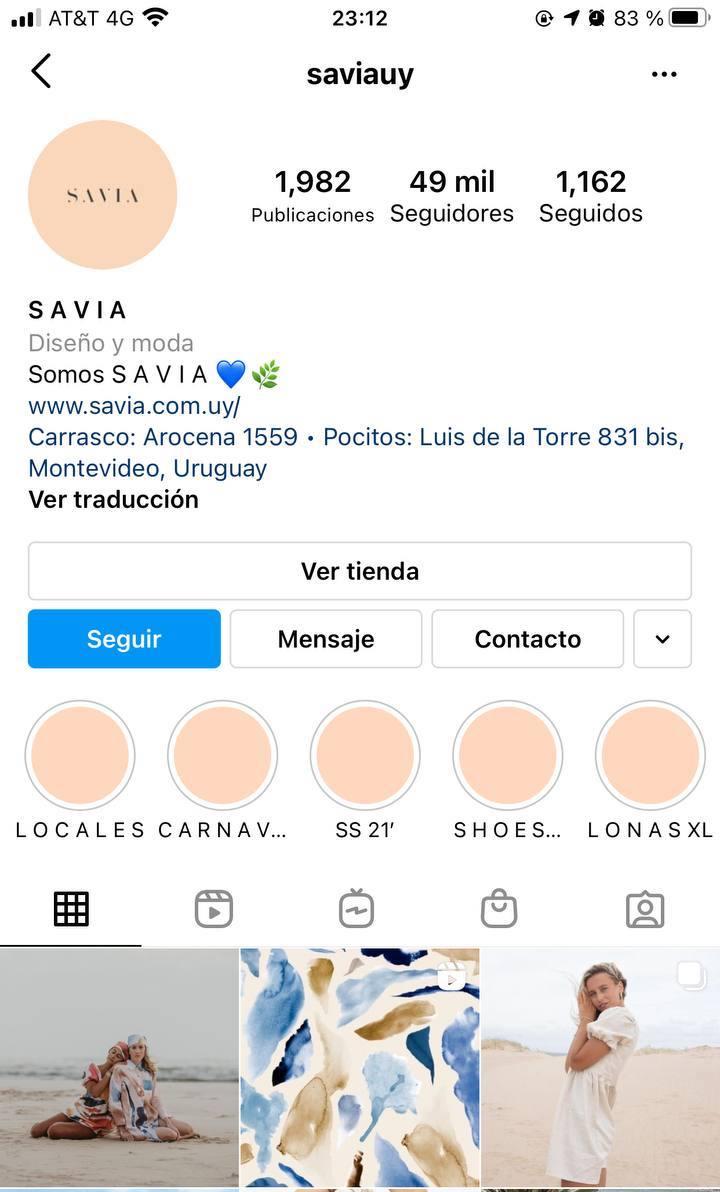 Marcas en Instagram que seguir: Savia, marca de ropa