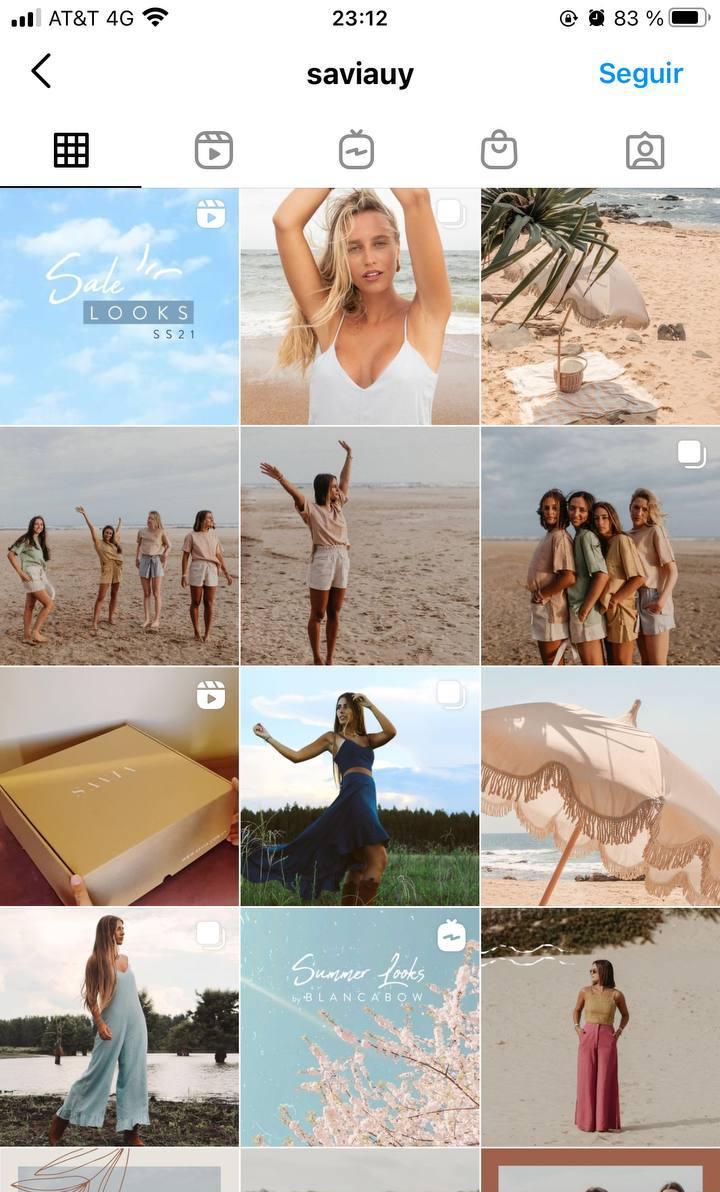 Marcas en Instagram que seguir: Savia, feed