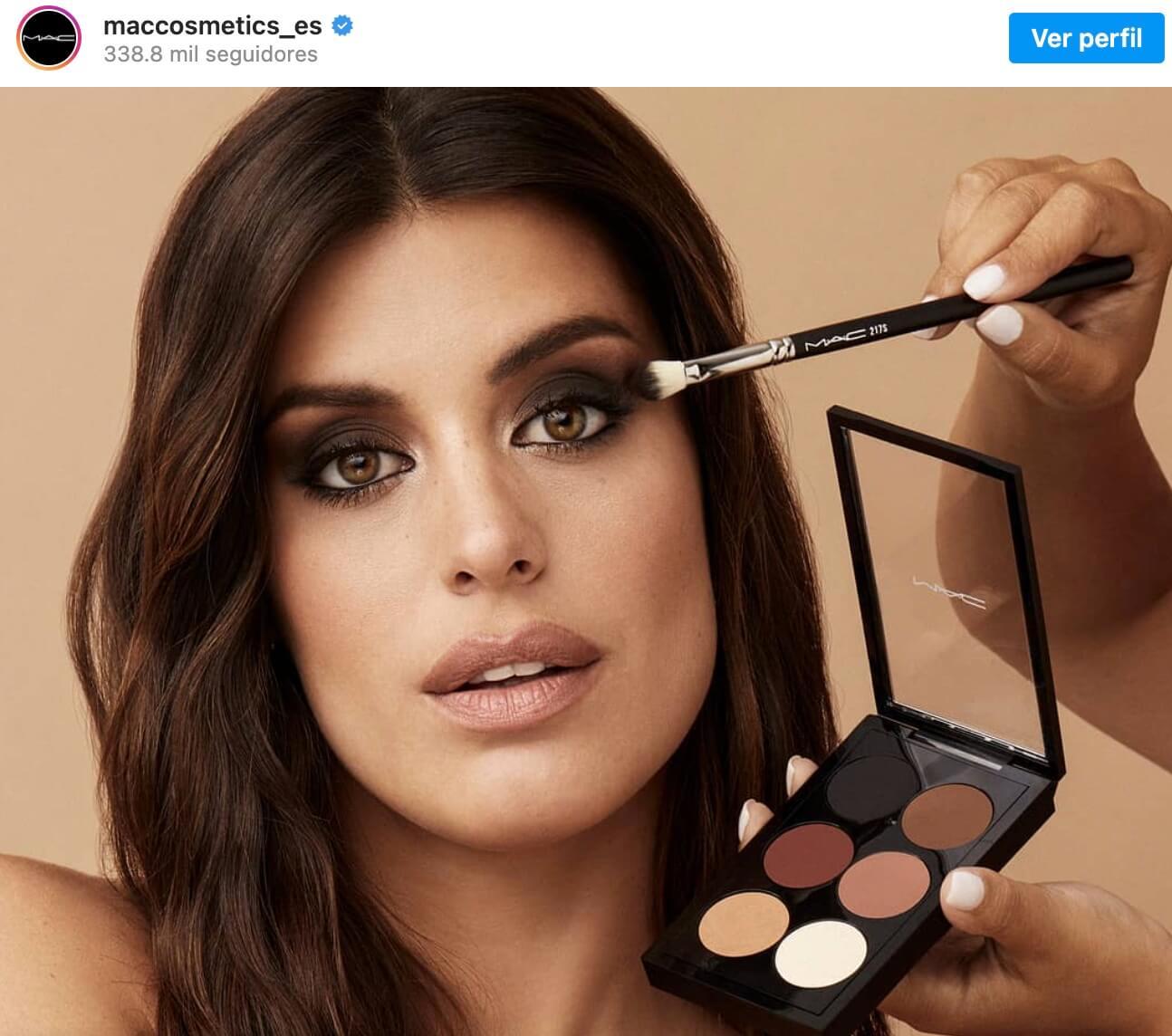 Marketing de influencers ejemplos, Mac Cosmetics