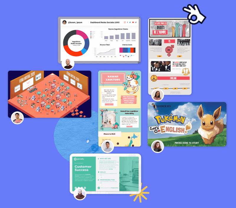 Genially, página para crear infografías gratis