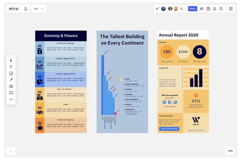 Miro, página para crear infografías gratis