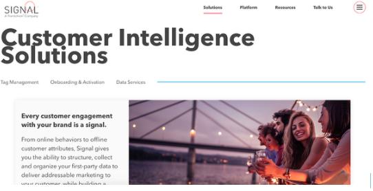 Mejores software de customer intelligence: Signal