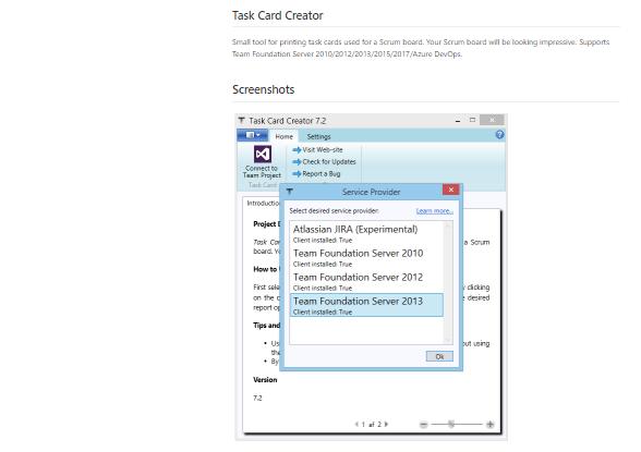 Herramientas scrum: Task Card Creator
