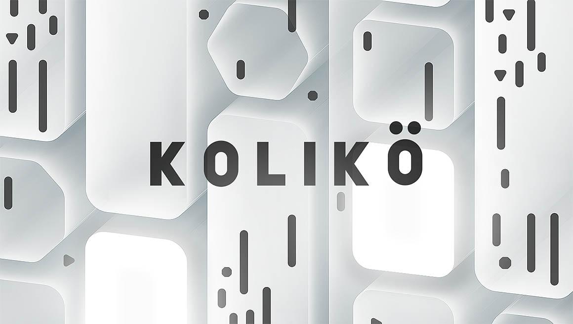 Tipografía moderna gratis para logos: Koliko