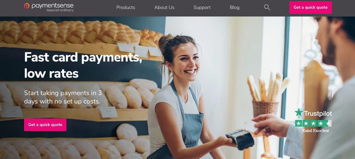 Pasarelas de pago: Payment Sense