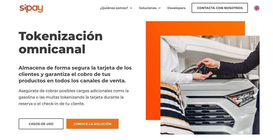 Pasarelas de pago online: Sipay