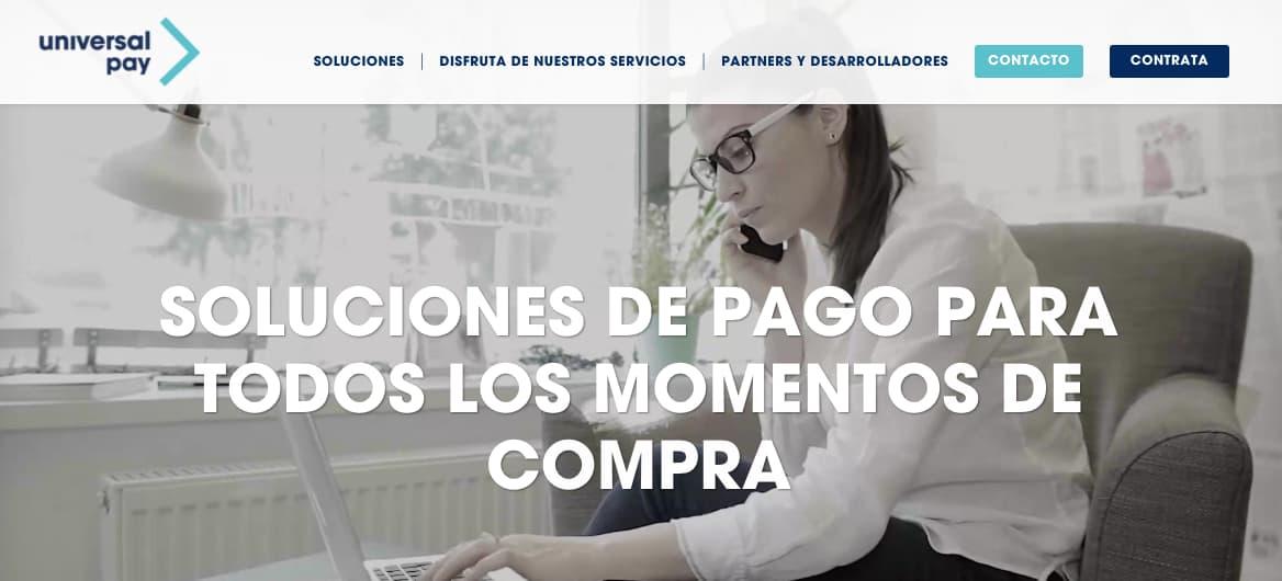 Pasarelas de pago online: UniversalPay