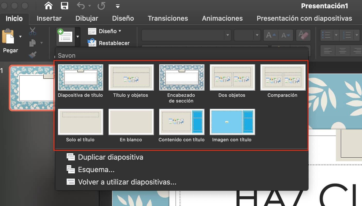 Cómo hacer una presentación de PowerPoint: Elige el tipo de diapositiva que necesitas