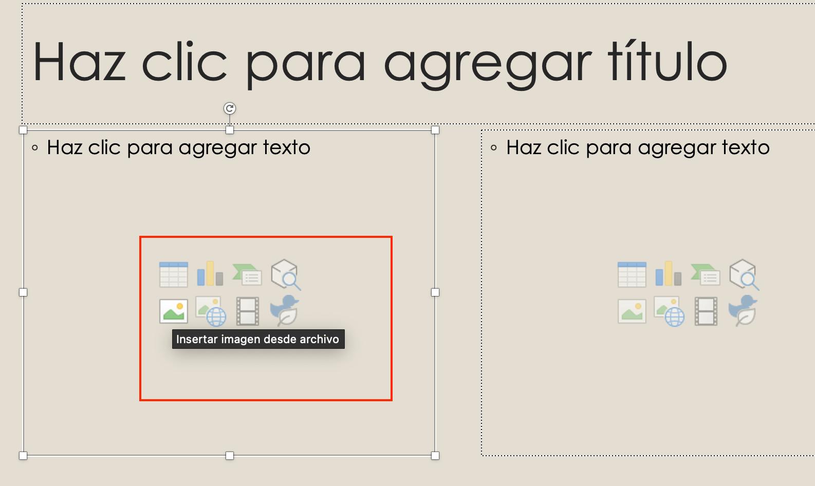 Cómo hacer una presentación de PowerPoint: añade la información de tu presentación