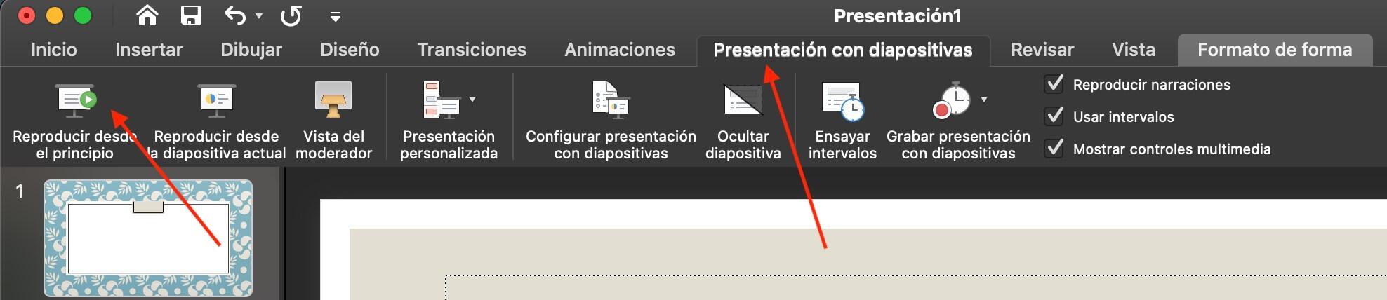 Cómo hacer una presentación de PowerPoint: inicia tu presentación