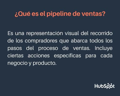 Qué es un pipeline de ventas: definición