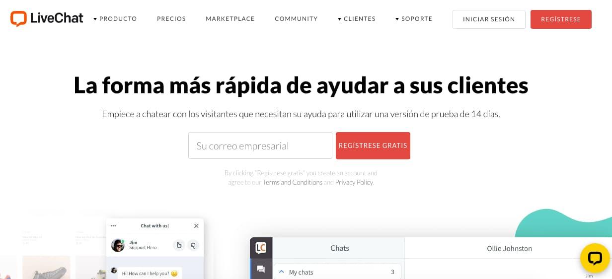 Plugin de chat para WordPress: LiveChat