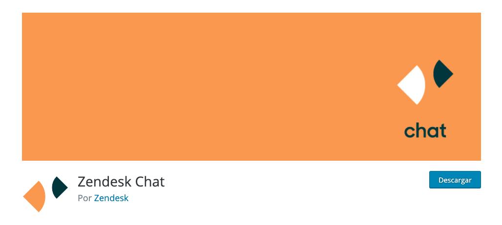 Plugin de chat para WordPress: Zendesk