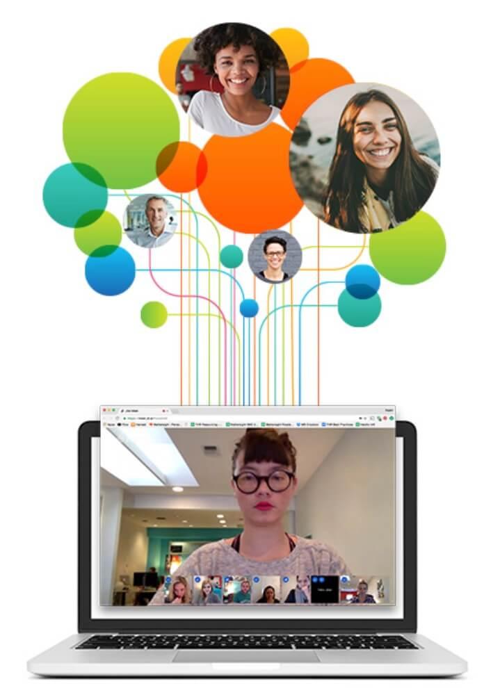 Programas para videoconferencias gratis: Jitsi