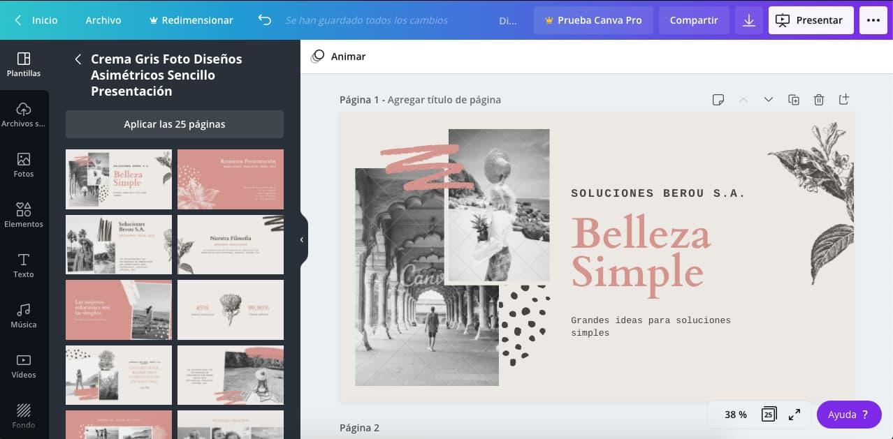 Programas de diseño grafico gratis: Canva